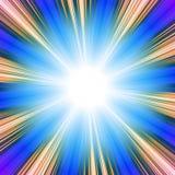 słoneczny vortex Obraz Royalty Free
