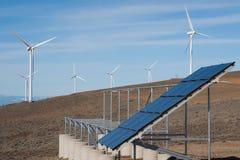 słoneczny władza wiatr Zdjęcie Royalty Free