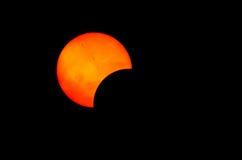 Słoneczny Zaćmienie Obrazy Royalty Free