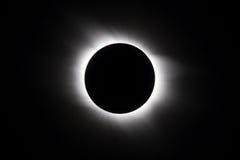Słoneczny zaćmienie fotografia royalty free