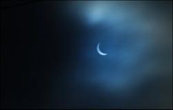 Słoneczny zaćmienie - Marzec 20, 2015 Obrazy Royalty Free