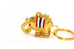 Słonia kluczowy łańcuch Obrazy Stock