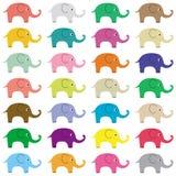 Słonie background5 Fotografia Royalty Free