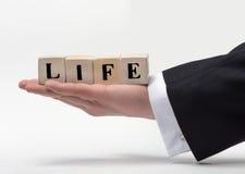 Słowa życie obraz stock