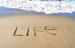 Słowa życie zdjęcie stock