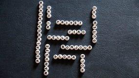 Słowa ` ` robić round klingerytów bloki w różnych językach Cześć Zdjęcia Royalty Free