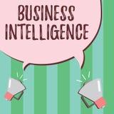 Słowa writing teksta business intelligence Biznesowy pojęcie dla najlepsza praktyka Optymalizować Perforanalysisce informacja ilustracji