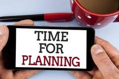 Słowa writing teksta czas Dla Planować Biznesowy pojęcie dla początku projekt Robi decyzjom Organizatorskiemu rozkładowi pisać na Obrazy Stock