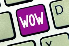 Słowa writing teksta no! no! Biznesowy pojęcie dla Wyrażać zdziwienia i respektu Historycznego sukces Ekscytuje someone ogromnie zdjęcia royalty free