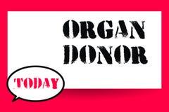 Słowa writing teksta Organowy dawca Biznesowy pojęcie dla A demonstrować organ ich ciała czego dla od oferuje ilustracji