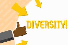 Słowa writing teksta różnorodność E royalty ilustracja