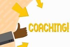 Słowa writing teksta trenowanie Biznesowy pojęcie dla Przygotowywam Oświecał Kultywuje ostrzenie Zachęca Umacnia rękę ilustracji