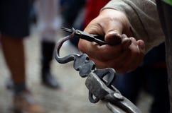 SŁOWACKIEJ LUDOWEJ ręki POŻARNICZY żelazo Fotografia Stock