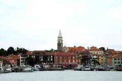 Słoweński miasto Piran obrazy royalty free