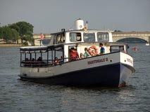 Słowika II wycieczki turysycznej łódź Zdjęcie Royalty Free