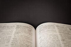 Słownik angielszczyzny - Tajlandia fotografia royalty free