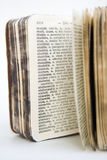słownik starych serii zdjęcia stock