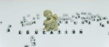 Słowo edukacja obraz stock