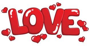 Słowo miłości tematu wizerunek 1 Zdjęcie Royalty Free