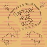 Słowo pisze tekscie Konfiguruje ceny wycenę Biznesowy pojęcie dla oprogramowania używa firmami dla kosztować towary Freehand ilustracji