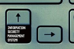 Słowo pisze tekstowi Ewidencyjnej ochrony system zarządzania Biznesowy pojęcie dla IT zbawczej bezpiecznie technologii Klawiaturo zdjęcie stock