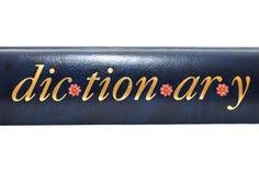 Słowo słownik Obraz Royalty Free