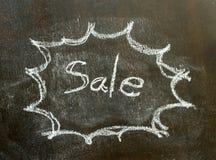 Słowo sprzedaż w bąbla znaku Zdjęcie Royalty Free