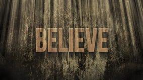 Słowo Wierzy w Ray s światło zbiory wideo