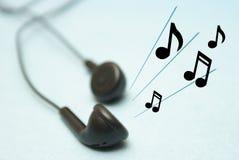 Słuchać muzyka Zdjęcie Stock