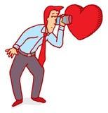 Słucha twój serce royalty ilustracja
