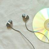 Słuchawka z cd Zdjęcie Royalty Free