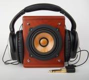 słuchawki głośnik Obrazy Royalty Free