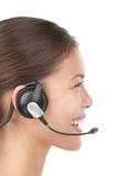 słuchawki kobieta fotografia royalty free