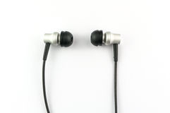 Słuchawki na białym tle zdjęcie royalty free
