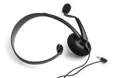 Słuchawki z mikrofonem zdjęcie stock