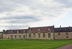 Sługów domy w Audley końcówki domu w Essex Zdjęcia Royalty Free