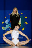 SŁUPA tana mistrzostwo - junior Zdjęcia Royalty Free
