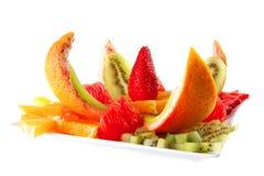słuzyć owoc sałatka Zdjęcie Stock