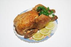 Słuzyć Pieczony Kurczak zdjęcie royalty free