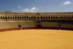 słynny byk pierścienia Seville fotografia royalty free