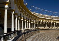 słynny byk pierścienia Seville obraz royalty free