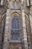 Słynny kościół Gaudi Obraz Stock