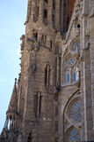Słynny kościół Gaudi Obrazy Royalty Free