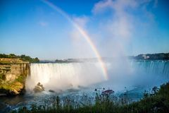 Słynny Niagara Spada w Kanada, Ontario obrazy royalty free
