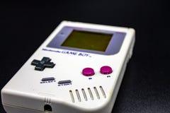 90s便携式的电子游戏 图库摄影