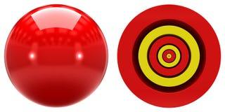 6s原子轨道的形状在白色背景的 免版税库存图片