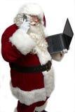 s圣诞老人工作量 库存图片