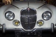 S型的捷豹汽车 免版税图库摄影