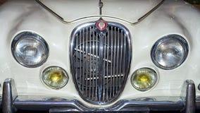 S型的捷豹汽车 免版税库存图片