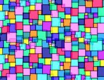 s方形墙壁 免版税库存图片